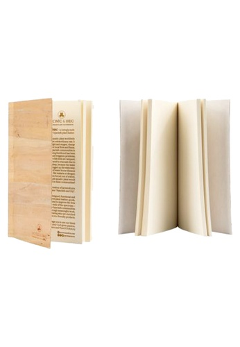 Jacinto and Lirio n/a Mini Blank Water Hyacinth Vegan Leather Inlaid Journal Notebook Inserts DA60FHL2FB4BF3GS_1