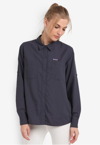 41dc8c86758a05 Shop Patagonia Long Sleeve Anchor Bay Shirt Online on ZALORA Philippines