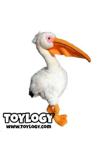 Jual Toylogy Boneka Hewan Burung Pelican Pelican Bird Doll 19 5 Inch Original Zalora Indonesia