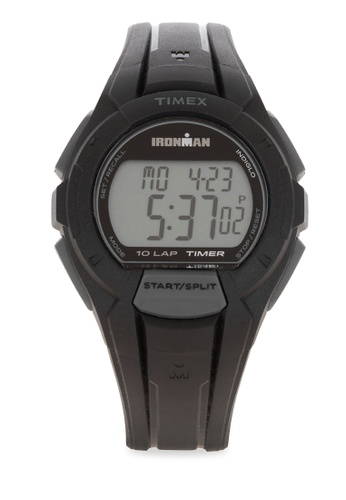 TIMEX black Im Essential 10 Full Digital Watch 395F7AC6C4E564GS_1