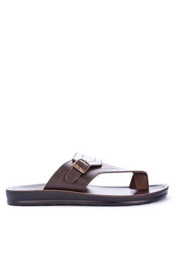 H2Ocean brown Abraxas Sandals F0608SH5ED22CFGS_1