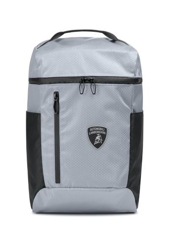 Lamborghini grey Automobili Lamborghini® Galleria Grey Backpack 02041ACB5EF832GS_1