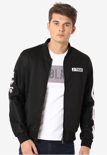 16f51374d Boys Moto Fit Graphic Jacket