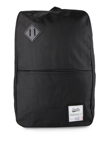 Anello black Square Type Backpack AN804AC76WBVID_1