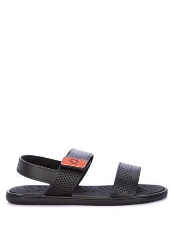 Cartago black Malta IV Sand Ad Sandals 34835SH85D26C8GS_1