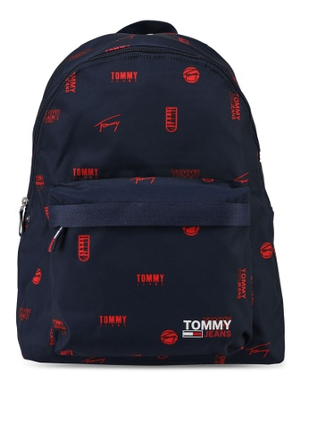 Tommy Hilfiger multi Tjm Campus  Dome Backpack Print - Tommy Jeans 2CC51AC815665DGS_1
