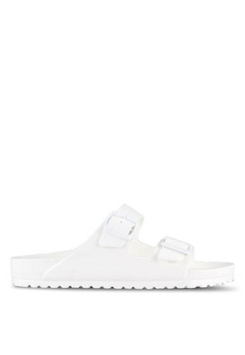 Birkenstock white Arizona EVA Sandals BI090SH0RTIZMY_1