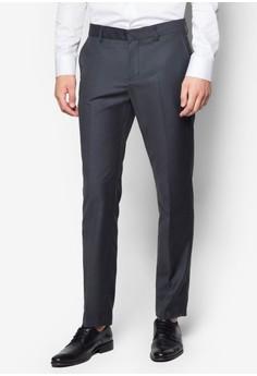 Slim-Fit Formal Trousers