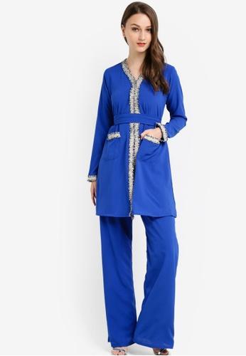 Najjah blue Sabrina Suit NA225AA62NJTMY_1