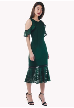 20% OFF Nichii Cold Shoulder Lace Dress RM 149.90 NOW RM 119.90 Sizes L e6922f0af