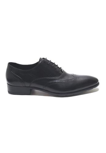 Kings Collection black Girolando Oxford Shoes 50F8ASH259C0F1GS_1