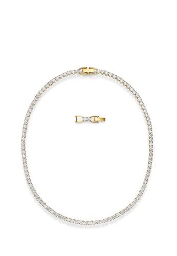Swarovski white Tennis Deluxe Necklace C8F11AC9C2C0F1GS_1