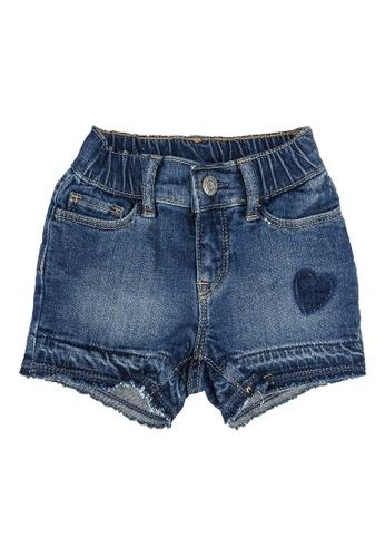 GAP blue Heart Detail Denim Shorts 9EE50KAD4AE9D3GS_1