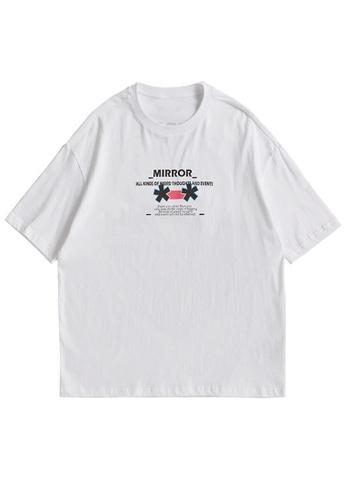 Twenty Eight Shoes Trend Printed Short T-shirt 5125S21 37A0EAA113E636GS_1