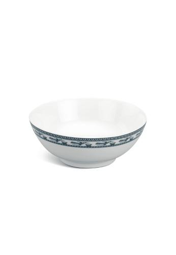 Minh Long I white Annam Bird: Porcelain Soup Bowl (18cm) 7C35AHL2F9CCA8GS_1