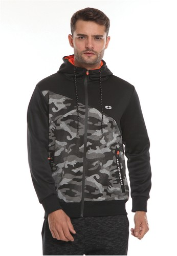 No Fear black Division - Windrunner Hoodie 1F59DAACC1CE83GS_1
