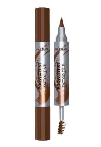 L'Oréal Paris brown L'Oreal Paris Brow Artist Tattoo Tint Dark Brown 402E9BE7A44C2CGS_1