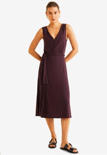 08b26ef056d0 Buy Mango Bow Modal Dress | ZALORA HK