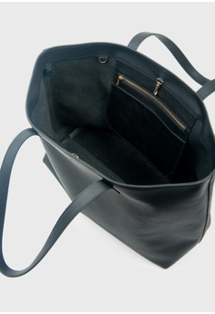 e2e881ee3d05 Tocco Toscano Aimee Leather Tote (Black) S  299.00. Sizes One Size