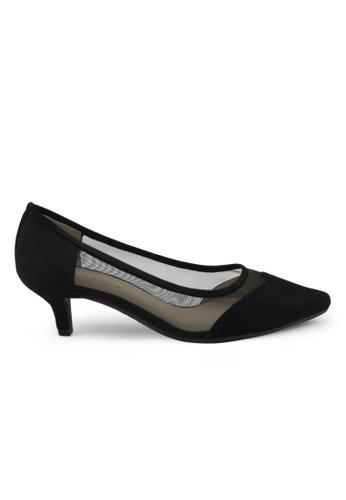 Shu Talk black Adele Sexy Pointy Heels SH397SH0GOB5SG_1