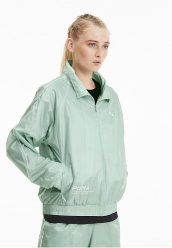 puma green Evide Women's Jacket 0D45CAA4199120GS_1