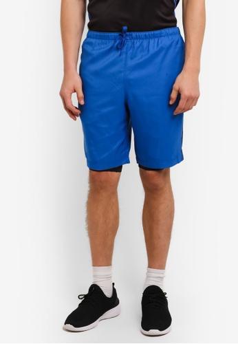2GO 藍色 GO Dry 訓練短褲 2G729AA0S5W1MY_1