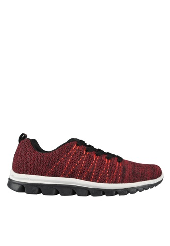 Hush Puppies red Hush Puppies Jobe - Maroon ED1C7SHA2F6279GS_1
