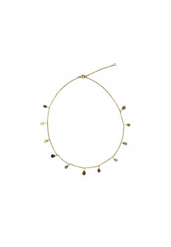 Shinju Pearls multi SHINJU PEARLS-Fancy Sapphire Briolette Choker Necklace D3AD2ACF8A61C7GS_1