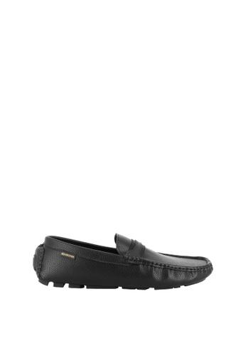 SEMBONIA black SEMBONIA Men Microfiber Loafer (Black) 6672FSHB795041GS_1