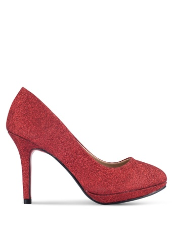Alfio Raldo red Pump Heels AL803SH0R9PBMY_1