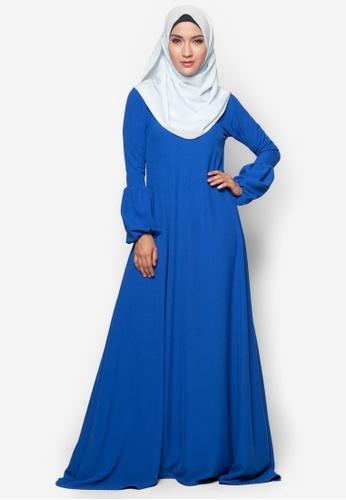 Amar Amran blue Jubah Qhadeeja AM362AA10BUJMY_1