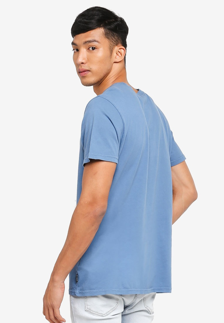 Blue Club Tee Club Billabong Tee Slate npxW7