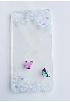 Butterflies Soft Transparent Case for iPhone 6plus, 6splus
