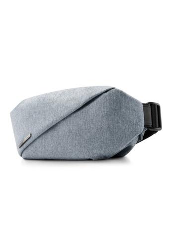 NIID blue Multiple Function ‧ Hidden 2way storage R0 Chest bag - Foggy Blue 6FE7FAC85EE196GS_1