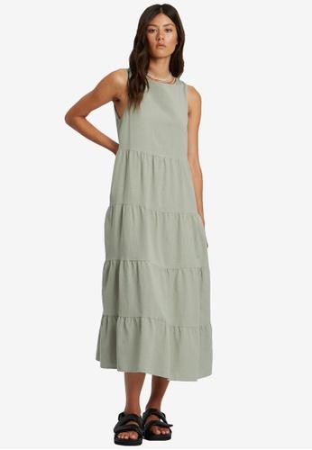 St MRLO green Byron Dress E0C80AAC390DA5GS_1
