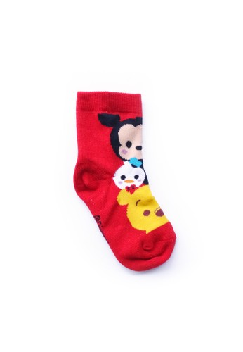 Mundo red DIE CUT - Children Sock Character Disney Tsum Tsum 0F6A8KA782C323GS_1
