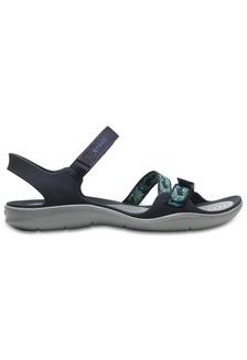 a5ca3d84d701cc Crocs Women s Swiftwater Webbing Sandal Navy CR883SH0SI9GMY 1
