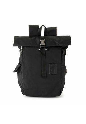 Harvest Label black Harvest Label Silver Wing Backpack - Black F2C6EAC2996735GS_1
