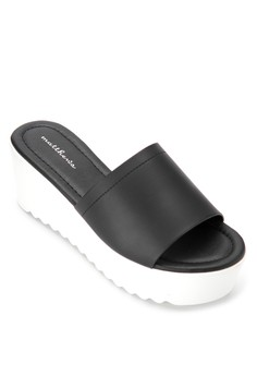 Sunflower Wedge Slides