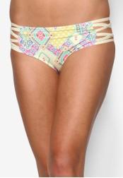 Piha yellow Modern Folk Bound High Waisted Bikini Bottom PI734US13ERYMY_1