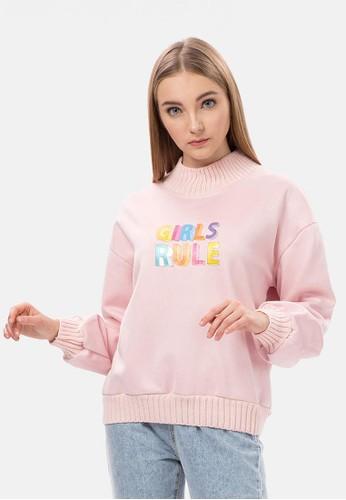 Billabong Girls Girls Girls Rule Zip-Up Sweatshirt