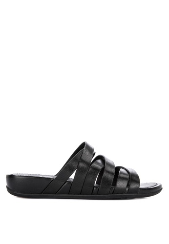 cbba3a8c434 Shop Fitflop Lumy Leather Slides Online on ZALORA Philippines