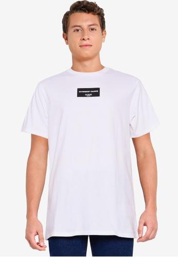 Guess white Outermost Short Sleeve Tee E3194AA06E53B0GS_1