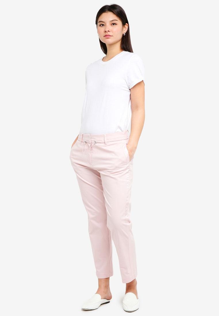 Woven ESPRIT Pink Regular Light Pants 08H0qP7Rxw
