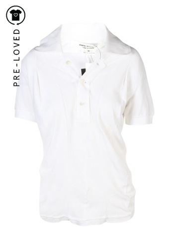 Junya Watanabe white Pre-Loved junya watanabe Polo Shirts 2248DAA6F5B014GS_1