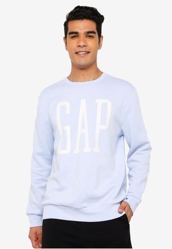 Gap blue Logo Sweatshirt 42BCEAA35E7B20GS_1