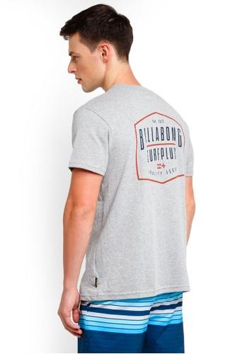 Billabong 灰色 印花T恤 C02CEAA202BD24GS_1