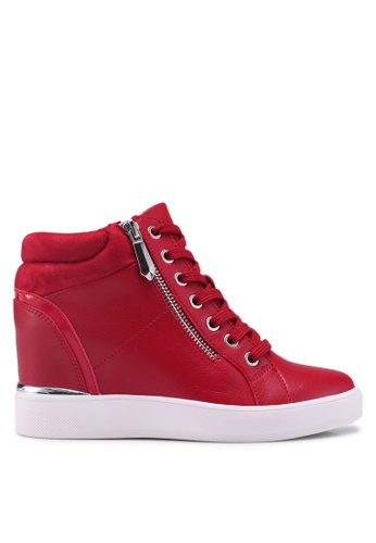 ALDO red Ailanna Sneakers 7B844SH7D060A6GS_1