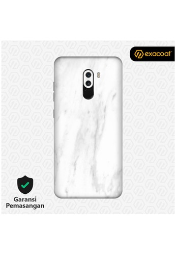 Exacoat Pocophone F1 3M Skins Marble White - Cut Only 96B66ES8A57D4AGS_1