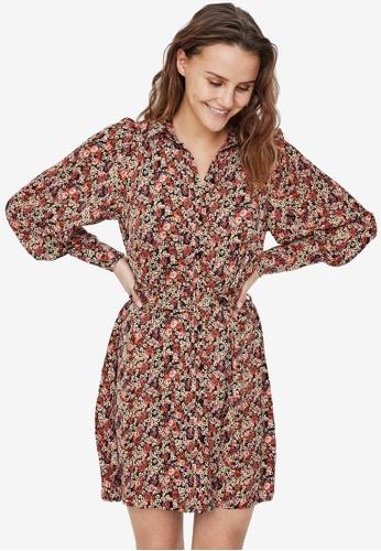 Vero Moda black Reba Short Shirt Dress C566FAA1904086GS_1